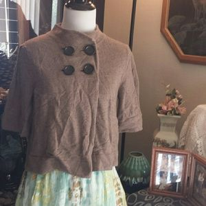 Cashmere Capelet Sweater Small